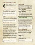 The Hidden Cairn - An RPG Beginners Adventure