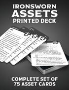 Ironsworn Assets (Printed Deck)