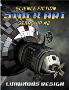 Sci-fi Stock Art Starship #2