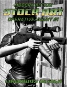 Modern Action Stock Art #1: Operative / Agent