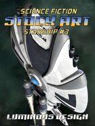 Sci-fi Stock Art Starship #3