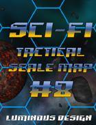 Sci-fi Tactical Scale Map #8