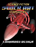 Sci-fi Stock Art Starship #4