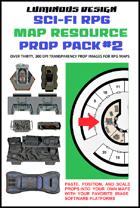 Sci-fi RPG Map Prop Pack #2