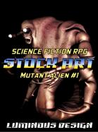 Sci-Fi Stock Art Mutant Alien #1