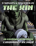 Ashdown: Xin Sourcebook For Starships & Spacemen 2E (2020 Update)