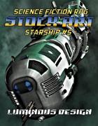 Sci-fi Stock Art Starship #5