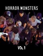 Horror Monsters Vol. 1