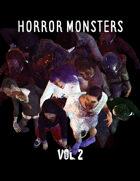 Horror Monsters Vol. 2