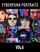 Cyberpunk Portraits Vol. 5