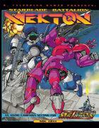 Mekton: Starblade Battalion