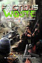 Factious Waste Wasteland Warfare Miniatures Game Rulebook