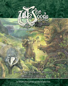 The Woods: Second Edition Dark Age Folklore Fantasy Core Rulebook (rules for Skirmish, RPG and Mass-combat)