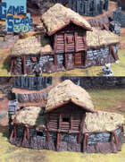 Large Peasant House and 6 Small Shacks