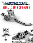 Primitive Mill and Watchtower