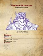Sorcerous Origin - Vampiric Bloodline