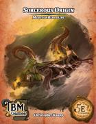 Sorcerous Origin - Merfolk Bloodline