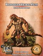 Barbarian Primal Path - Path of the Behemoth