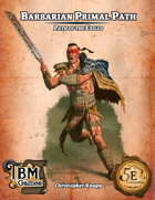 Barbarian Primal Path - Path of the Exiled