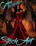 Standard Fantasy Stock Art - Demon Queen
