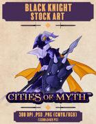 Premium Stock Art: Black Knight (Cities of Myth)