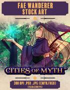 Premium Stock Art: Fey Wonderer (Cities of Myth)