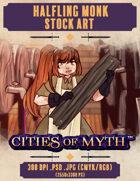 Premium Stock Art: Halfling Monk (Cities of Myth)