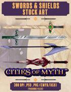 Premium Stock Art: Swords and Shields (Cities of Myth)