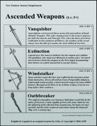 Season 2 Free Supplements (Ascended Weapons)