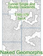 Tunnel Single and Double Deadends Set A (T165-179A)