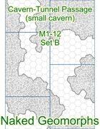 Cavern-Tunnel Passage (small cavern) Set B (M1-12B)