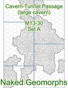 Cavern-Tunnel Passage (large cavern) Set A (M13-30A)