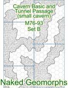Cavern Basic and Tunnel Passage (small cavern) Set B (M76-93B)