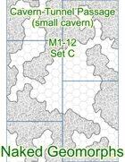 Cavern-Tunnel Passage (small cavern) Set C (M1-12C)