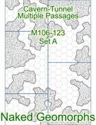 Cavern-Tunnel Multiple Passages Set A (M106-123A)