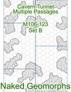 Cavern-Tunnel Multiple Passages Set B (M106-123B)