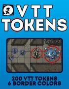 TC VTT Tokens (200-Count, Six Colors)