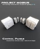 3D Printable Control Panels (3 Versions)