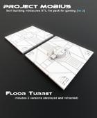 3D Printable Floor Turret (2 Versions)