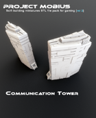 3D Printable Communication Tower