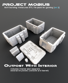 3D Printable Outpost With Interior