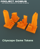 3D Printable Cityscape Game Tokens