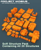 3D Printable Scifi Structure Pack