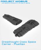 3D Printable Dreadnought Class Space Carrier - Plusllian