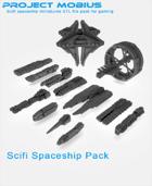 3D Printable Spaceship Pack