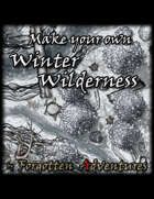 Make your own Winter Wilderness