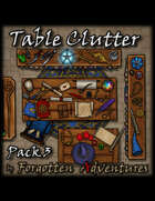 Table Clutter - Pack 3