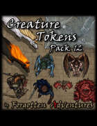 Creature Tokens Pack 12