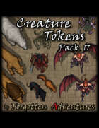 Creature Tokens Pack 17