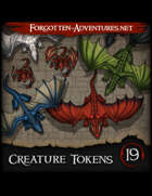 Creature Tokens Pack 19